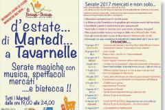 "Programma ""Di martedì d'Estate a Tavarnelle"""